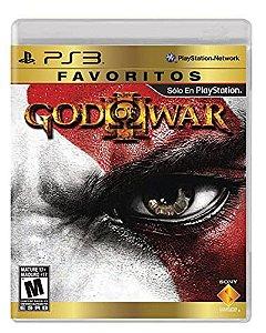 God of War 3 Game PS3 Dvd Físico Novo