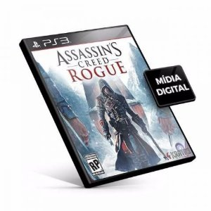 Assassins Creed Rogue PS3 Game Digital PSN
