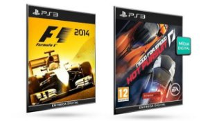 F1 2014 VS Need For Speed Hot Pursuit PS3 Game Digital Original PSN