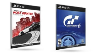 Need For Speed Most Wanted vs Gran Turismo 6 PS3 Game Digital Original PSN