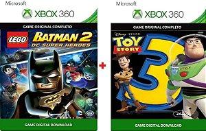 Lego Batman 2 + Toy Story 3 Xbox 360 Game Digital Original