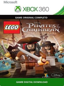 Lego Piratas dos Caribe Xbox 360 Game Digital Original