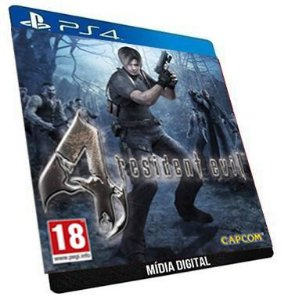 Resident Evil 4 PS4 Digital PSN Game Aluguel