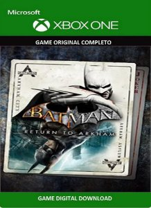 Batman Return to Arkham - 2 Games Xbox One Original Digital Xbox Live