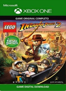 Lego Indiana Jones 2 Game Xbox One Original Digital