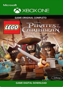 Lego Piratas dos Caribe Game Xbox One Original Digital