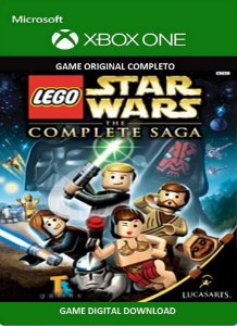 Lego Star Wars A Saga Completa Game Xbox One Original Digital