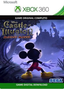 Castle of Illusion Starring Mickey Mouse Xbox 360 Game Digital Original