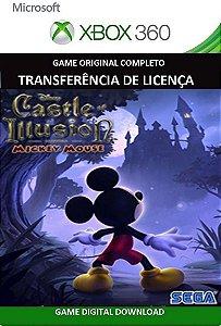 Castle of Illusion Xbox 360 Game Mídia Digital Original