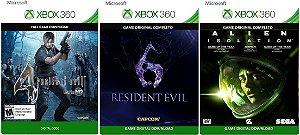 Resident Evil 4 + 6 + Alien Isolation Xbox 360 Game Digital Xbox Live