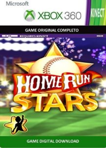 Home Run Stars Game Kinect Xbox 360 Digital Original