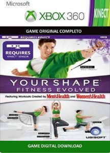 Your Shape Fitness Evolved Kinect Game Xbox 360 Digital Original