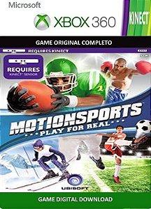 Motionsports Kinect Xbox 360 Game Digital Original