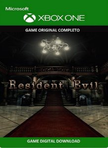 Resident Evil HD Remaster Game Xbox One Original Digital