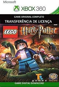 Lego Harry Potter Years 5-7 Game Xbox 360 Mídia Digital Original