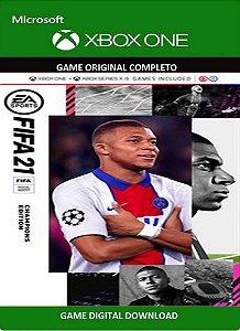 FIFA 21 Edição dos Campeões Game Xbox One Original Digital Xbox Live