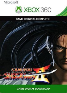Samurai Shodown II Xbox 360 Game Digital Original