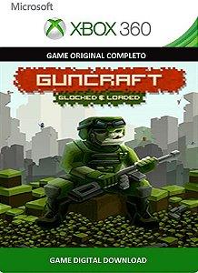 Guncraft: Blocked and Loaded Xbox 360 Game Digital Original