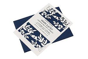 Convite Casamento Bird Wedding