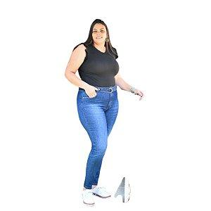 Calça Feminina Plus Size Skinny