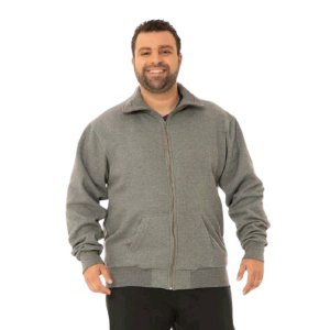 Jaqueta Masculina Plus Size Moletom