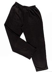 Calça Masculina Plus Size Moletom Flanelado