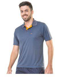 Camiseta Polo Masculina Plus Size Dry Fit