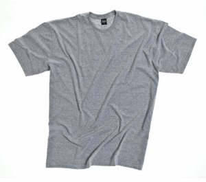 Camiseta Masculino Plus Size Gola Careca Lisa Mescla
