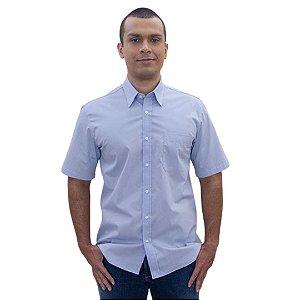 Camisa Masculina Plus Size Manga Curta - Diversas Cores