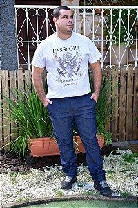 Calça Masculina Plus Size Slim Jeans
