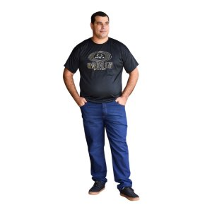 Calça Masculina Plus Size Slim Fit