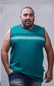 Regata Masculina Plus Size Machão