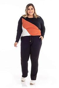 Blusa Feminina Plus Size Canelada