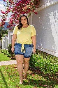 Blusa Feminina Plus Size com Nózinho