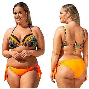 Biquini Plus Size - Busto com Bojo - Peça Avulsa