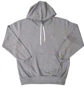 Blusa Masculina Plus Size Moletom Fechada com Capuz
