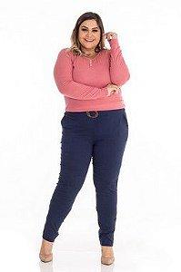 Blusa Feminina Plus Size Ribana
