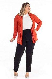 Cardigan Feminino Plus Size
