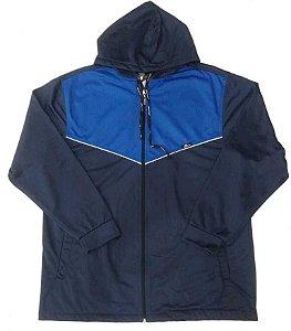 Jaqueta Masculina Plus Size Helanca com Capuz
