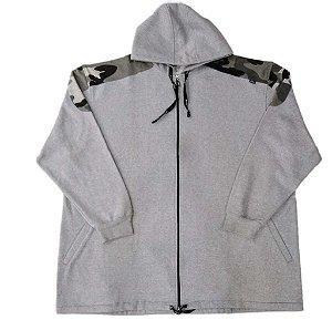 Blusa Masculina Plus Size Moletom com Capuz