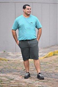 Bermuda Masculina Plus Size Sarja