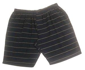 Bermuda Masculina Plus Size Sarja Listrada