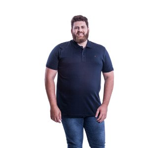 Camiseta Masculina Plus Size Polo Ton Sur Ton