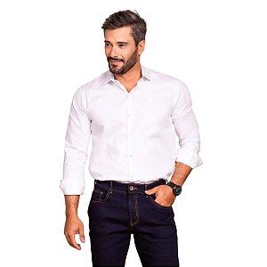 Camisa Masculina Plus Size Poggio Manga Longa