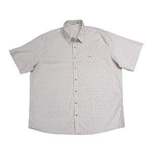 Camisa Masculina Plus Size Estampada