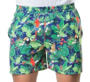 Shorts Masculino Plus Size Tactel Estampa