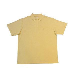 Camiseta Masculina Plus Size Polo Piquet