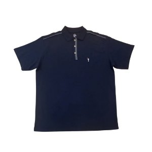 Camiseta Masculina Plus Size Polo Piquet Vivo