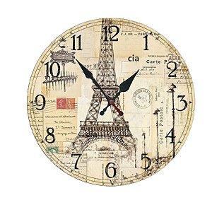 Relógio de Parede Paris com 59 cm