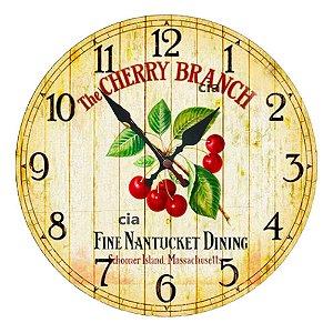 Relógio de Parede Cherry com 39 cm